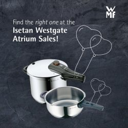 [WMF] Turn up the heat for Valentine's Day at the Isetan Westgate Atrium Sales from 6 Feb – 12 Feb!Best