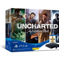 [Funco Gamez] PlayStation 4 Slim [Uncharted Adventure Pack] Bundle !! Available now @ $479 ^_^Contents: 1 x PS4 Slim 500GB Black Console 2