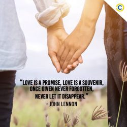 [Courts] For the lovebirds out there, here's a sweet quote from a legend to kickstart your love engines. For the