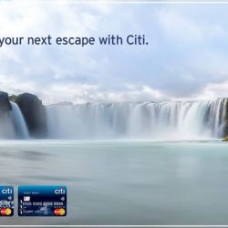 [Citibank ATM] Mark your calendars, NATAS Travel 2017 is back from the 17 – 19 Feb 2017. Citi Cardmembers who book their packages