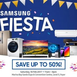 [Best Denki] Start the auspicious year with up to 50% savings at Samsung Fiesta. Enjoy amazing offers on Samsung products plus fun