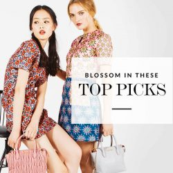 [Reebonz] Blossom in time for spring with our designer floral picks.