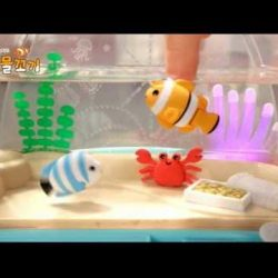 [Gifts Greetings] Swimming fish from mimiworld is in store now! Watch as the fishes dance to the music in their little fish