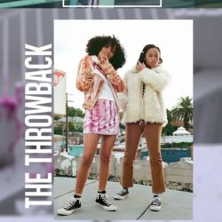 [Converse Singapore] Throwback looks for days. @Yarashahidi and @salemmitchell blur the lines between between vintage and contemporary. #foreverchuck #converse