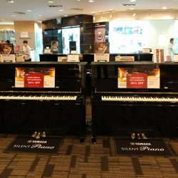 [YAMAHA MUSIC SQUARE] Yamaha Acoustic Piano Display Sets Clearance Sale and other promotions are now on at our Plaza Singapura Branch. Do drop
