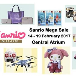 Marina Square: Sanrio Mega Sale with Up to 80% OFF Disney, Sanrio, Bandai, Funko & More!