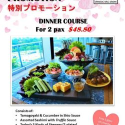 [Sumiya] For the whole month of February, we will be celebrating 💖 love 💖 with our special Valentine's day promotion—a dinner