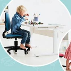 [FLEXA] One desk, All agesLet your child set it's creative ideas free in an ergonomic environment with the new