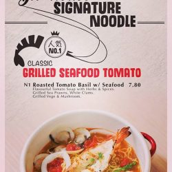 [NOODLE BAR BY TOKYO LATTE] Our customers favourite signature dish. This is the real deal. With no MSG added and bringing out the flavour with