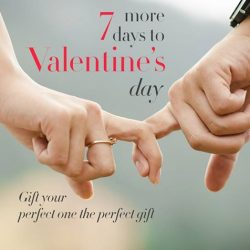 [ARCH] It's just 7 more days to Valentine's day!Get your perfect gift now at Arch! Selected frames for