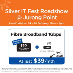 [M1] M1 is proud to be a key sponsor for IMDA's Silver IT Fest! Come on down to the event