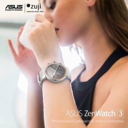[ASUS] Travel smarter with the ASUS ZenWatch 3 and stay updated at a glance that helps you make the most of