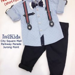 [IN2Kids] Post CNY Sale!!! Further marked down including this baby boy set (6mths-2yrs) while stock last mummies be quick for