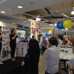 [Courts] Join UFM100.3 Limei & Weilong in Exciting games, Amazing 'LIVE' Auction & Fantastic Ballot Deals here at COURTS Toa Payoh now !!
