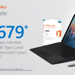 [Newstead Technologies] Massive savings of $679 for Purchase Surface Pro 4 & with Type Cover and Office 365 Professional!Get it now in