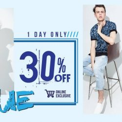 [HI STYLE] MONDAY NO MORE BLUE All Blue Colour Cloth Entitled 30% Off Flash Sales 1 Day OnlyValid on 27-2-