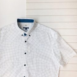 [G2000 Outlet] Laidback vibes abound with our informal patterned shirts, now going at a promotional price of $59 each.