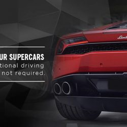 [Ultimate Drive] Experience a supercar.  It is affordable and hassle free.1. International licence not required 2. Insurance fully covered 3. Highly