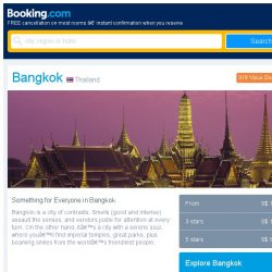 [Booking.com] Last-minute deals from S$ 15 in and around Bangkok