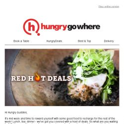 [HungryGoWhere] Red Hot Deals: 5th Diner Dines Free, Lunch/Dinner Buffet Deals & more for your mid week recharge!