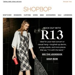 [Shopbop] R13's new edgy-sleek collection