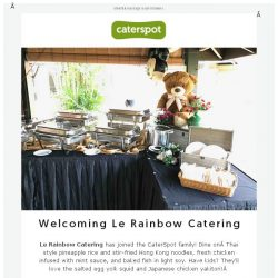 [CaterSpot] Introducing Le Rainbow Catering ❤️