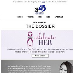 [Triumph] The Dossier: Celebrate Her this March 8