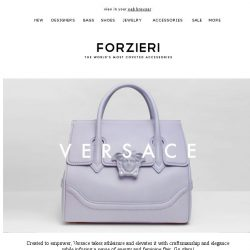 [Forzieri] New Power Crew Arrivals from Versace, Marc Jacobs and 3.1 Phillip Lim
