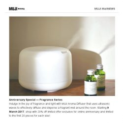 [Muji] MUJI Online - Newly Added Promotions 9 March!