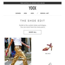 [Yoox] All the shoes a girl could want...