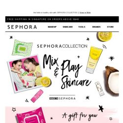 [Sephora] Wave bye bye to your skin worries