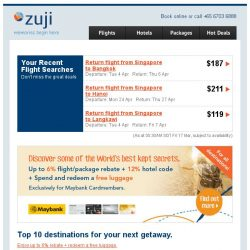 [Zuji] Fly to Seoul or Tokyo fr $316! On full service airlines too.