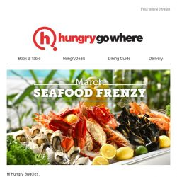 [HungryGoWhere] Seafood Frenzy Deals: Free Lobster, 1-for-1 Bluefin Tuna Dishes, 50% Off 2nd Seafood Main & more seafood deals!