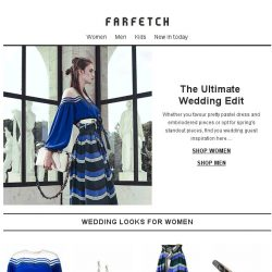 [Farfetch] Attending a wedding? We've got you covered
