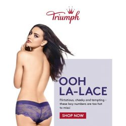 [Triumph]  💋 Oh La-Lace! + 25% OFF