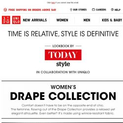[UNIQLO Singapore] Get styling inspirations with TODAY Style