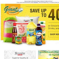 [Giant] Great Offers From Giant - UP TO 40% OFF!