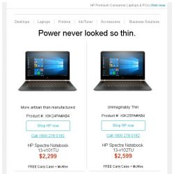 [HP Singapore]  Be blown away with HP Premium Notebooks and PCs
