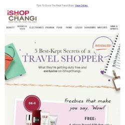 [iShopChangi] 5 Shopping Hacks for Your Next Trip