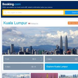 [Booking.com] Last-minute deals from S$ 8 in and around Kuala Lumpur