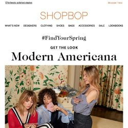 [Shopbop] Red, white, and new!