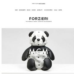 [Forzieri] New In: It's All About the Attitude, MCM, McQ and Neil Barrett