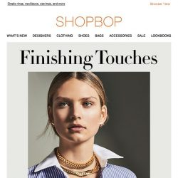 [Shopbop] Meet your new everyday jewelry picks