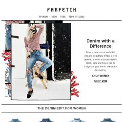[Farfetch] Unbeatable denim