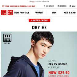 [UNIQLO Singapore] Stay comfortable in everyday wear