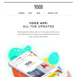 [Yoox] 📱App-date! Discover the new features of the YOOX app