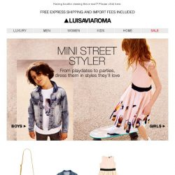[LUISAVIAROMA] Street worthy fashion for your lil ones