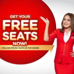 AirAsia: 3 Million FREE Seats Up for Grabs to Cebu, Jakarta, Krabi, Langkawi, Penang, Phuket, Tokyo, Wuhan and many more!