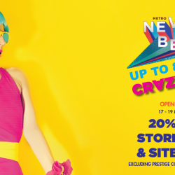 Metro: Crazy Sale is Back with Up to 80% OFF Selected Items & 20% OFF Storewide & Sitewide!