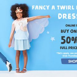 Cotton On: Online Exclusive Buy 1 Get 1 50% OFF Full Price Kids Items